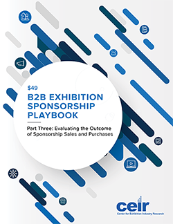 2019 B2B Exhibition Sponsorship Playbook: Part 3 cover image