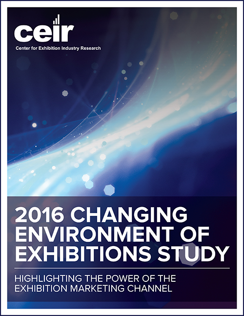 2016 Changing Environment of Exhibitions: Fact Sheet 5 cover image